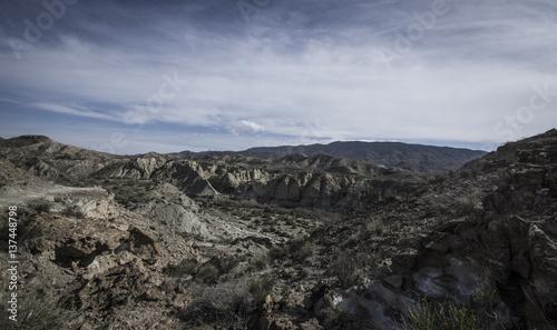 Photo  Désert de tabernas, Andalousie - tournage westerns