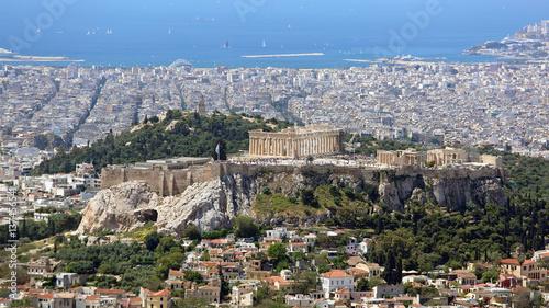 Fotobehang Athene Acropolis Athens