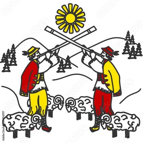 Obrazy Muzyka Polska hutsuls-and-carpathians