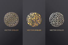 Vector Set Of Logo Design Temp...