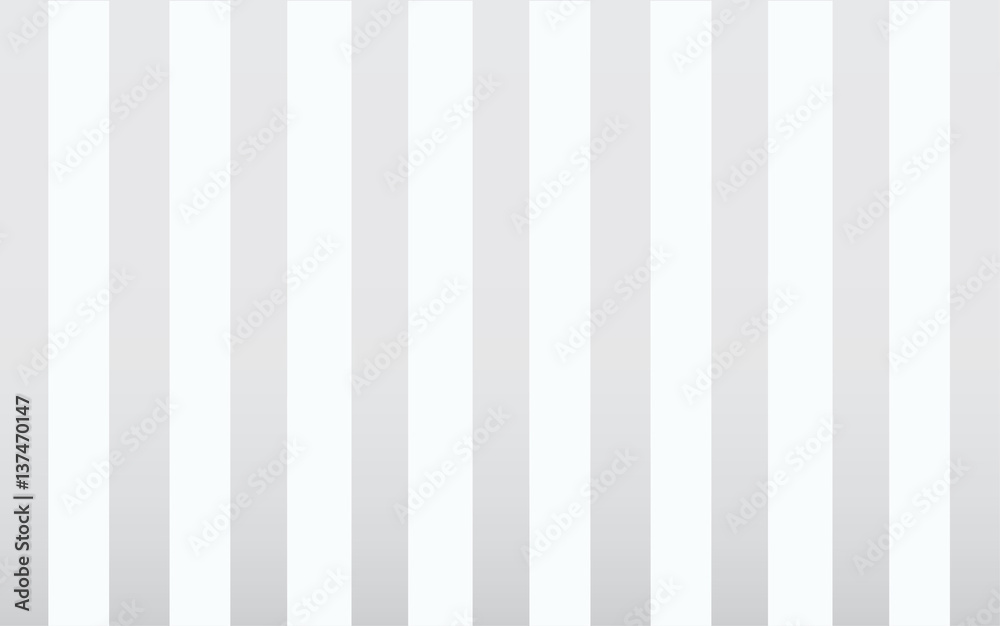 Fototapeta classic gray and white Stripe wallpaper backdrop