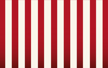 Classic Red And White Stripe W...