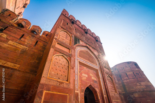 Agra Fort Wallpaper Mural