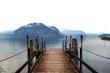No return. Italian lake