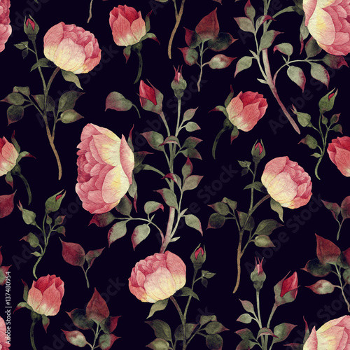 seamless-floral-pattern-with-roses-watercolor