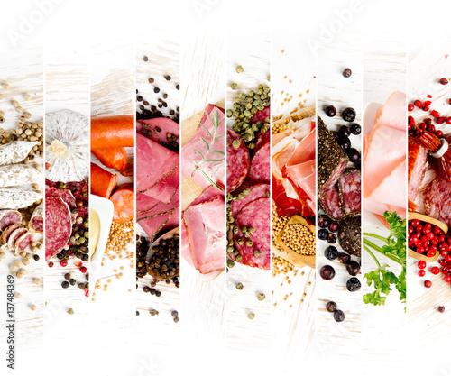 Photo  Ham and Salami Mix