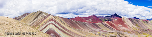 Photo  The Rainbow mountains of Peru