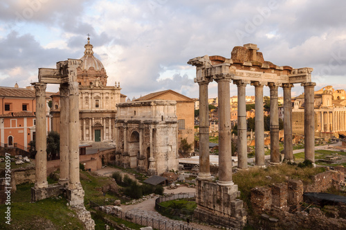 Roma Foro Romao Palatino © Samuele Gallini