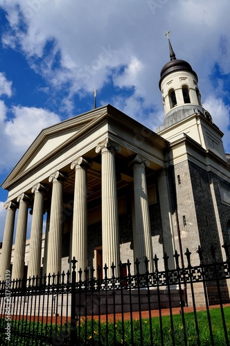 Fotografie, Obraz  Baltimore, Maryland - July 23, 2013:  1821 Baltimore Basilica with neo-classical