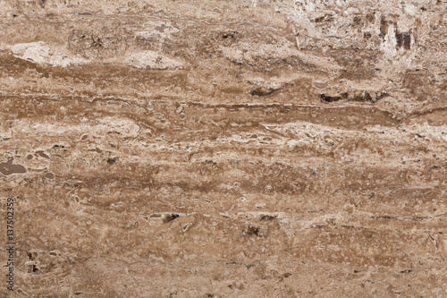 Canvas Prints Marble Beige travertine texture, abstract background.