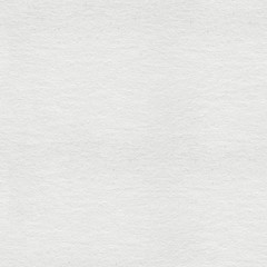 Blank white hand-made paper background. Seamless square texture, tile ready.