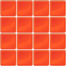 Orange Tiles Texture Seamless Illustration