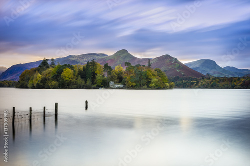 Fotografie, Obraz  Derwent water in the District Lake amazing landscape