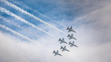 USAF Thunderbirds With Smoke T...