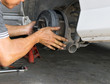 Auto mechanic Car,Removing wheels Equipment mechanic