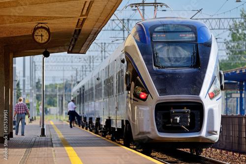 Fototapeta Passenger train. obraz