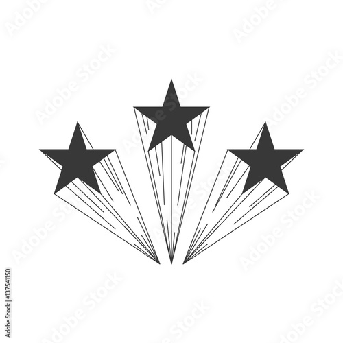 Shooting Star Logo Template Buy This Stock Vector And Explore
