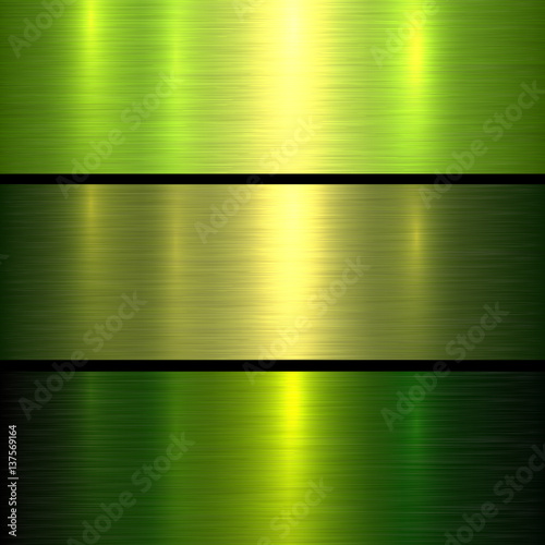 Metal green texture background