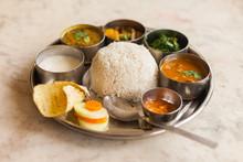 Nepali Thali (Dal Bhat) Set