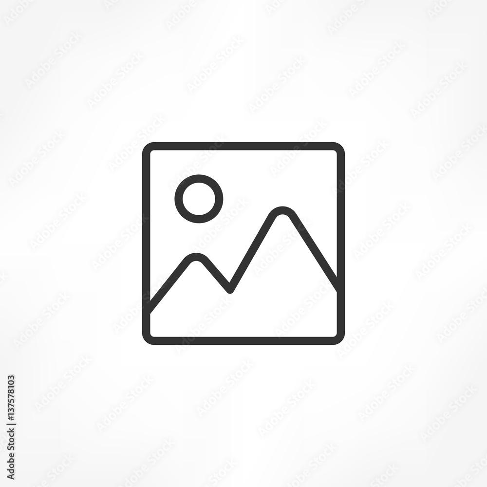 Fototapeta Image icon