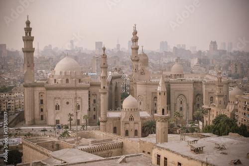 Staande foto Afrika Mosque of Sultan Hassan in Cairo, Egypt Africa
