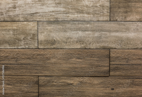 Tuinposter Hout Vintage ornament.Decorative pattern.Tile mosaic.Wooden texture.Decorative element for the interior of the rural house.