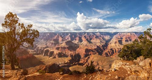 Poster de jardin Parc Naturel Scenic view Grand Canyon National Park, Arizona, USA