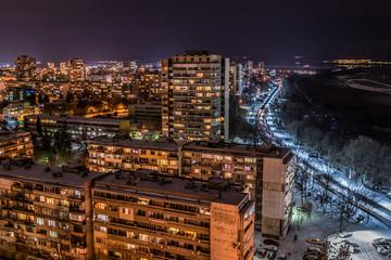 Night Burgas from 18 floor