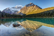 Reflection Of Mount Edith Cave...