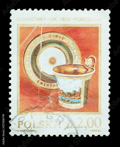 Photographie  Postage Stamp isolated