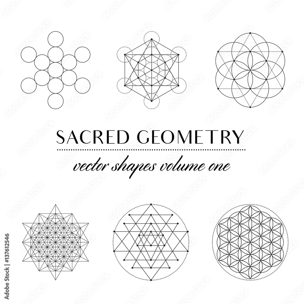 Fototapeta Sacred Geometry Volume One