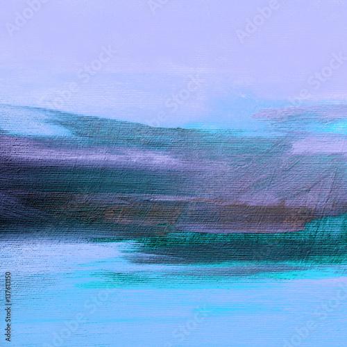 abstrakcyjny-krajobraz-wieczornego-pola-obraz-olejny