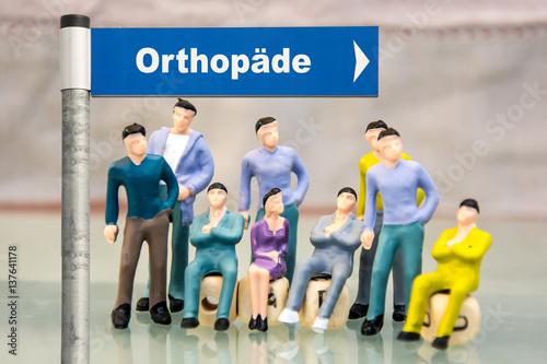 Fotografía  Schild 181 - Orthopäde
