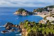 Tossa de Mar Sea Town on Costa Brava in Spain