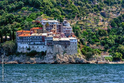 Gregoriou monastery, Mount Athos Fototapet