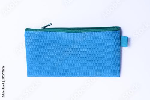 Cuadros en Lienzo blue leather pencil case