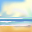 Vector illustration of Beautiful Summer background