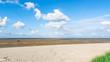 Sandstrand im Weltnaturerbe, Wattenmeer, Norddeutschland