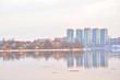 View of Neva river, St.Petersburg.