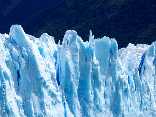 Fotobehang Antarctica Perito Moreno Glacier, Los Glaciares National Park in Argentina