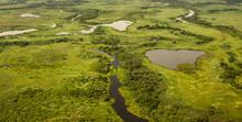 Aerial View Of Pantanal Wetlan...