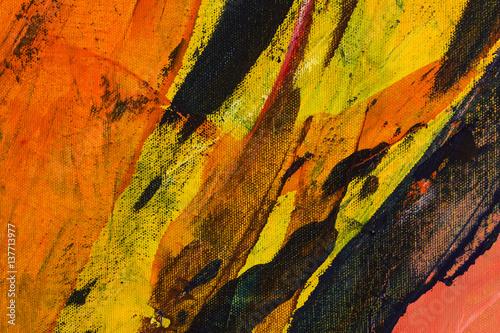 pomaranczowe-zolte-i-czarne-plamy-w-zblizeniu