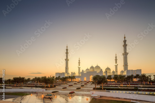 Poster Abou Dabi Sheikh Zayed Grand Mosque
