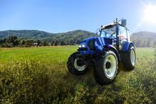 Modern Farm Tractor