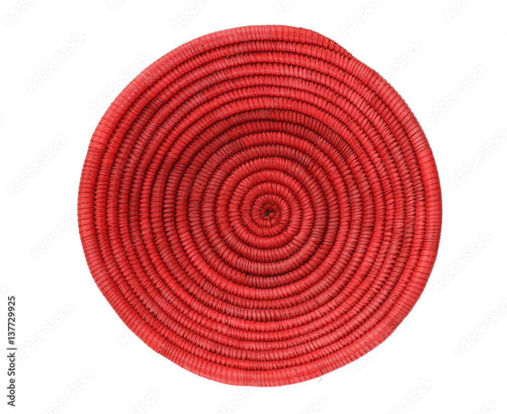 Fototapety, obrazy: red African basket