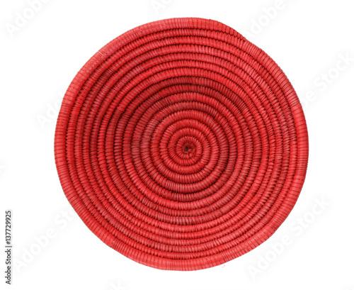 Fotografiet  red African basket