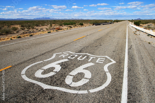 route 66 road Poster