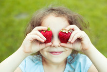 Child With Strawberry Eyes