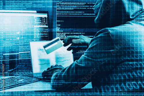 Fotografía  Internet crime concept