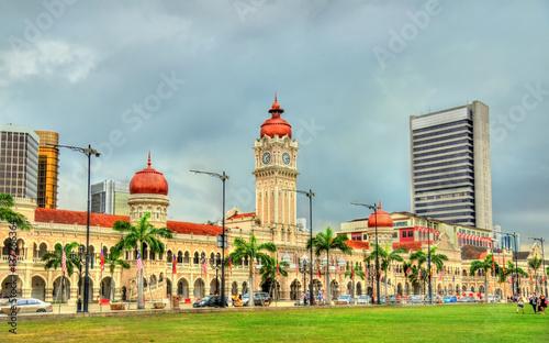 Obraz na plátně  Sultan Abdul Samad Building in Kuala Lumpur